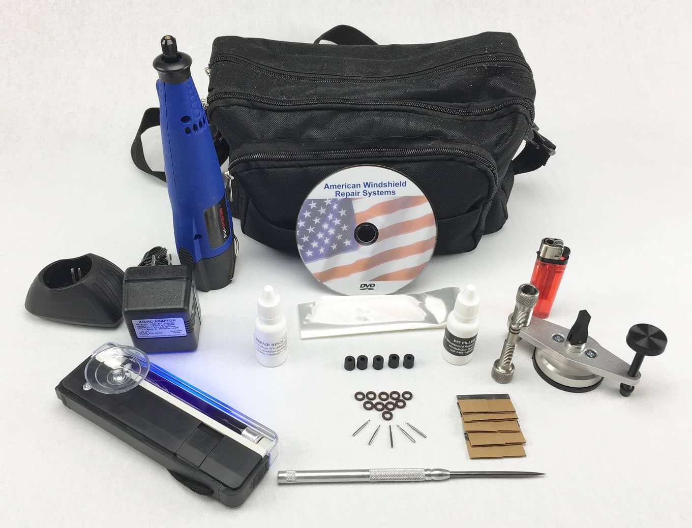 Professional Windscreen Repair Mini Kit