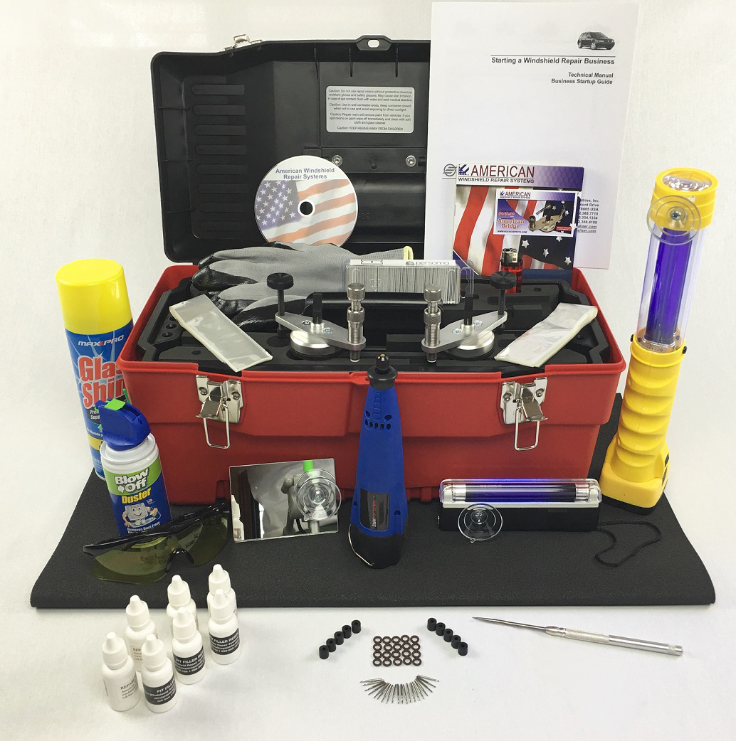 the master kit has two american repair bridges and is also loaded with extra supplies including our large uv light