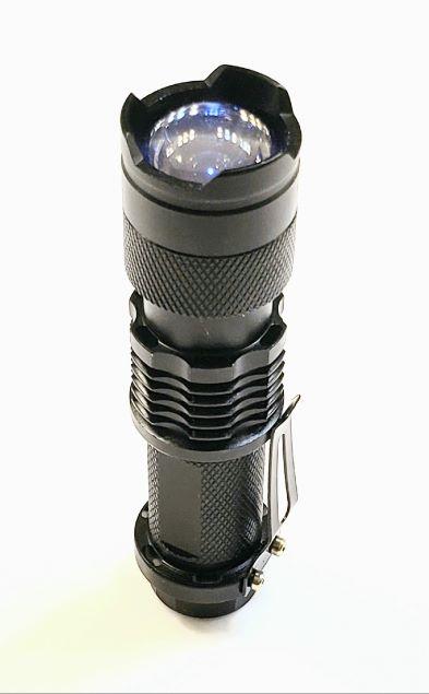 Ultra Violet Light Uv Flashlight Led With Mounting Bracket